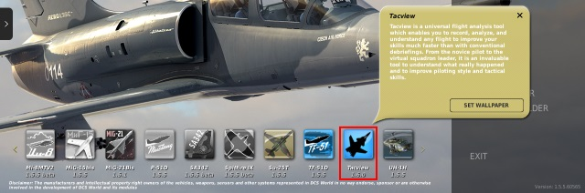 DCS World exporter icon
